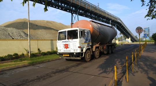 dalmia cement mobility vehicle