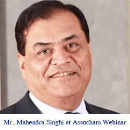 ASSOCHAM India – Webinar on impact of Covid on Indian Cement Industry