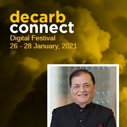 Mr Singhi at Decarb Connect Digital Festival